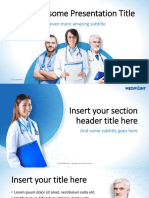 Medipoint Medical Template Showeet(Widescreen)