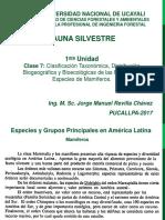 Fauna Silvestre Clase7 2017 II JMRCH