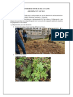 Informe 1 Primero 2017-2018