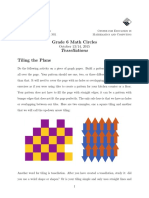 Tessellations Answer