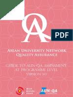 Guide to AUN-QA Assessment at Programme Level Version 3_2015_En