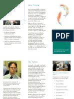 Educational Organization Pamphlet