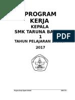 Program Kerja Kepsek