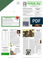 December 2008 Scrub Jay Newsletter Audubon of Martin County