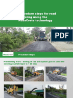 NusaCrete-procedure Steps Road Recycling