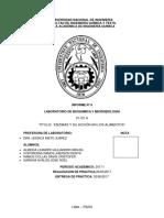 LABORATORIO DE BIOQUIMICA ENZIMAS