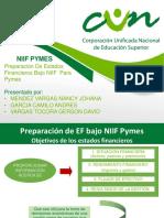 Preparación de Estados Financieros Bajo Niif Para Pymes