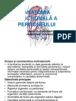 Anatomia Functionala a Peritoneului