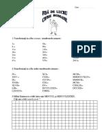 Test Cifre Romane
