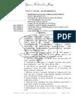 Acordão do STJ sibre Prescrição