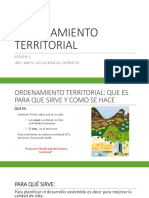 Ordenamiento Territorial Sesion 1