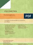 PSICOMETRÌA