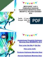 Mesyuarat AJK & Pengurus Pasukan MSSWPKL 2016