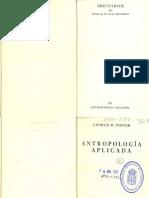 1. Foster, G. - Antropología aplicada.pdf