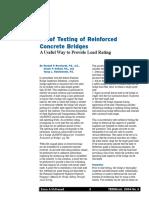 Article Proof Testing of Reinforced Concrete Bridges 04