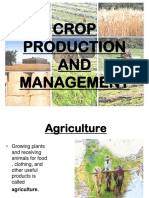 1. Crop Production and Management