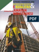 DPU Konstruksi Indonesia 2009