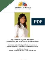 Rendicion de Cuentas Vanessa Fajardo