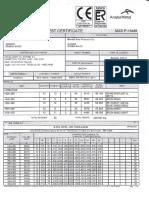 Mill Test Certificate 23