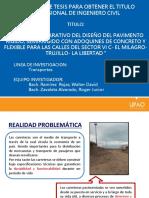 Proyecto de Tisis Estudio Comparativo Del Diseño de Pavimento Padt