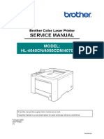 Brother Hl-4040cn, Hl-4050cdn, Hl-4070cdw Service Manual