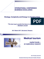 Medical Tourism - An Exploratory Research