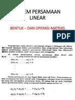 Bentuk Dan Operasi Matriks