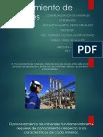 Procesamiento de Minerales -Machaca Huarca Diego Armando