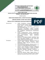 005 2.3.1.2 SK Kepala Puskesmas Tentang Penetapan Penanggung Jawab Program Puskesmas