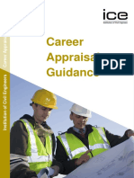 CEng Career Appraisal Guidance in ICE
