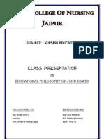 John Dewey Main