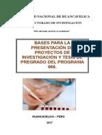 Bases Del Concurso de Proyectos 066