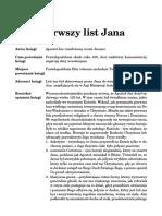 Listy Jana Fragment