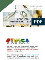 Kode Etik RS Syariah