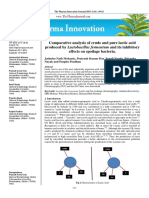 Production, Purification and Characterization of Lactic acid from Lactobacillus fermentum