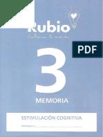 Cuadernillo Rubio Memoria 3