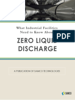 What Industrial Facilities Need to Know About Zero Liquid Discharge