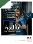 Le Guide égalité femmes-hommes, mon entreprise s'engage édité par le gouvernement