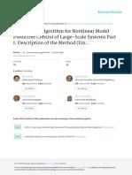 An Efficient Algorithm for Nonlinear Model Predictive Control