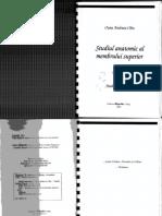 Studiul Anatomic Al Membrului Superior.vol 1 Editabil