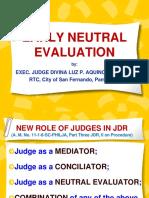 Segment 6 - Early Neutral Evaluation Oct 2015 (J. Simbulan)