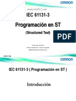 InfoPLC Net Omron Programacion ST