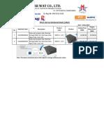 20170503 MSW_Price List (Insulation Mat) R-02