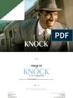 KNOCK - Dossier de Presse (Au 09 Octobre 2017)