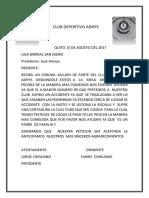 Club Deportivo Adhys 1