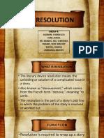 Final Resolution Report