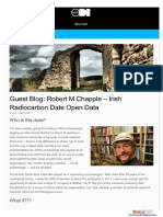 Chapple, R.M. 2017 Irish Radiocarbon Date Open Data. Blogpost, ODI Belfast