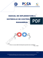 Manual de Implementare a SCIM