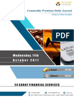 Commodities Journal Daily Reports-11th October 2017-Wednesday
