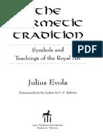 Julius Evola - The Hermetic Tradition.pdf